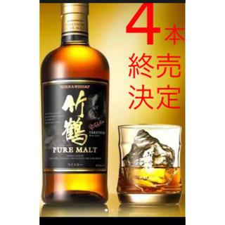 アサヒ(アサヒ)の竹鶴ピュアモルト700㎖4本セット(ウイスキー)