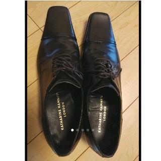 キャサリンハムネット(KATHARINE HAMNETT)の【美品】26.5cm ビジネスシューズ 革靴(ドレス/ビジネス)