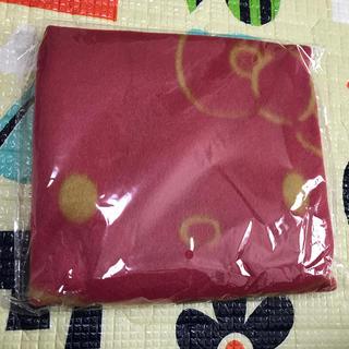 ハローキティ(ハローキティ)のハローキティ  Hello Kitty  ブランケット    非売品(おくるみ/ブランケット)