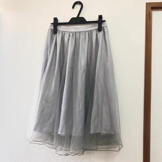 ティティアンドコー(titty&co)の27日発送可💛シフォンスカート(ロングスカート)