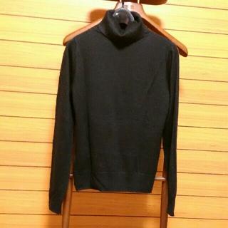 RyuRyu - RyuRyu タートルネックセーター黒(薄手)