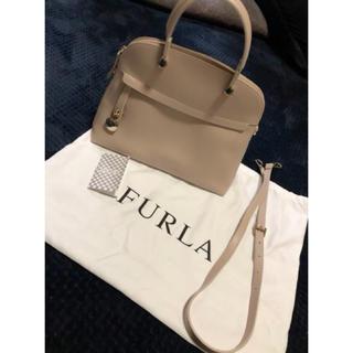 Furla -  FURLA フルラ パイパー Mサイズ ダリアベージュ