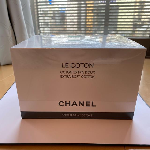CHANEL(シャネル)の新品未使用 シャネル ル・コットン 100枚 コスメ/美容のメイク道具/ケアグッズ(コットン)の商品写真
