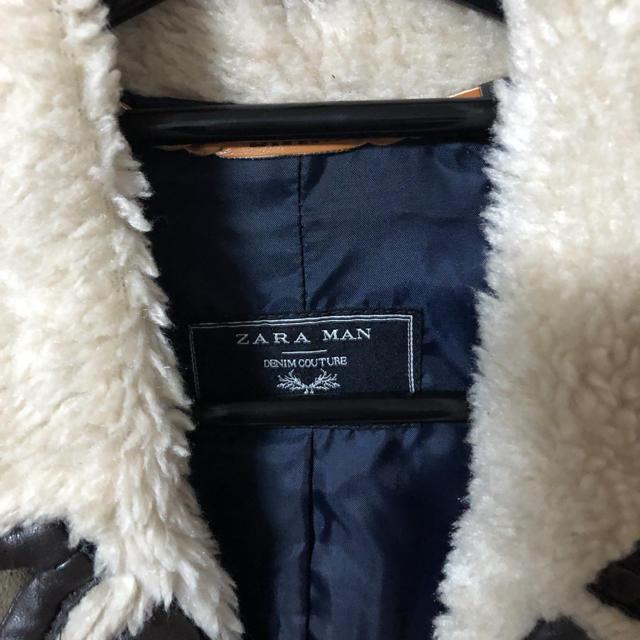 ZARA(ザラ)の美品 ZARA MAN ムートンコート メンズのジャケット/アウター(その他)の商品写真