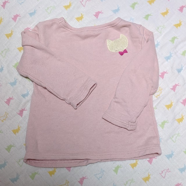 KP(ニットプランナー)のKPトレーナー 100サイズ キッズ/ベビー/マタニティのキッズ服女の子用(90cm~)(Tシャツ/カットソー)の商品写真