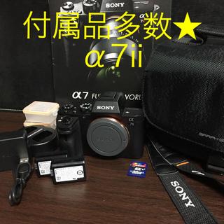 SONY - 付属品多数★Wi-Fi☆フルHD★SONY α7Ⅱ ミラーレス ILCE-7M2