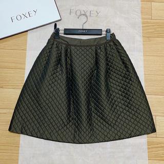 FOXEY - フォクシー カンパニュラ スカート ロゴ付き