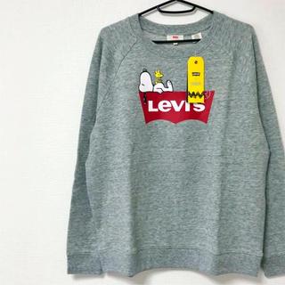 Levi's - Levi's<新品>PEANUTS コラボ クルーネックスウェット トレーナー