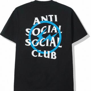 アンチ(ANTI)のAntiSocialSocialClub FRAGMENT ブルー XL(Tシャツ/カットソー(半袖/袖なし))