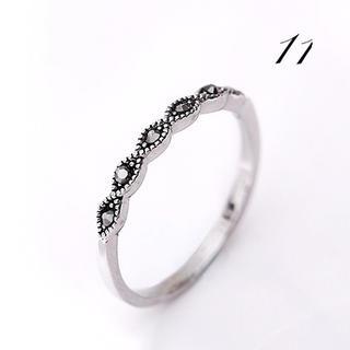 アンティーク調ブラッククリスタル(リング(指輪))