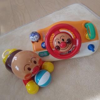 アンパンマン - アンパンマン ハイハイでおいかけっこ おでかけメロディハンドル おもちゃ