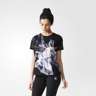 adidas - 【日本未発売】 Adidas x Rita Ora スモークTシャツ サイズ L