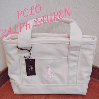 POLO RALPH LAUREN - 【新品 ナチュラルホワイト】ポロ ラルフローレン トートバック  コストコ