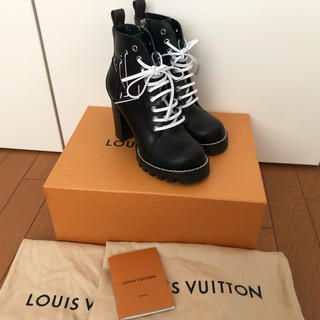 LOUIS VUITTON - LOUISVUTTON アンクルブーツ