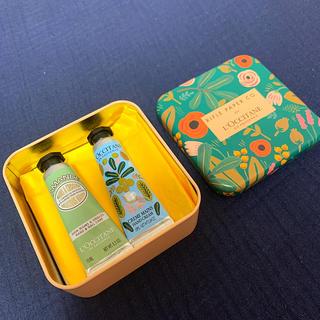 L'OCCITANE - ロクシタン 缶箱付き ミニハンドクリーム2個