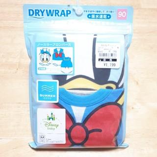西松屋 - 新品未使用★ノースリーブロンパース 肌着 下着 吸水速乾 DRY WRAP 90