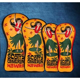 スコッティキャメロン(Scotty Cameron)のスコッティキャメロン ハワイアンフラガールウッド用カバー4個セット 新品 正規品(その他)