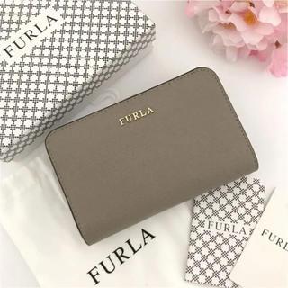Furla - 【新品】FURLA★人気の二つ折り財布 定価:3.0万円 サッビアグレー