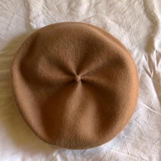 マーガレットハウエル(MARGARET HOWELL)の* 美品 * mature ha  マチュアーハ ベレー ベージュ(ハンチング/ベレー帽)
