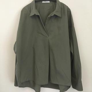 フリークスストア(FREAK'S STORE)のシャツ カーキ(シャツ/ブラウス(長袖/七分))