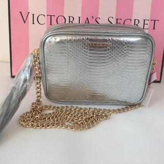 Victoria's Secret - ビクシー  ポーチ ショルダーバッグ シルバー チェーンバッグ タッセル