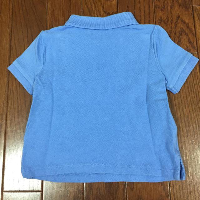 POLO RALPH LAUREN(ポロラルフローレン)のポロラルフローレン ベビーポロシャツ ブルー キッズ/ベビー/マタニティのベビー服(~85cm)(シャツ/カットソー)の商品写真
