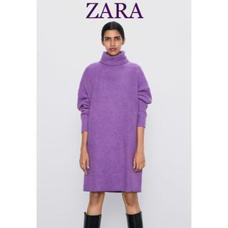ZARA - ZARA ソフトタッチワンピース ザラ