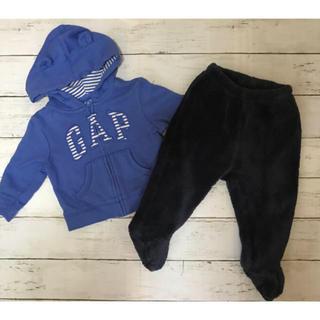 babyGAP - お買い得♪◆Baby GAP◆シャツ&もこもこパンツ2枚セット ベビー70サイズ