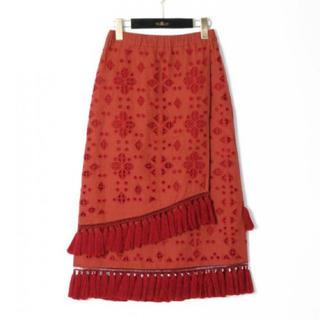 GRACE CONTINENTAL - 新品 定価41800円 グレースコンチネンタル オリエンタルな雰囲気のスカート