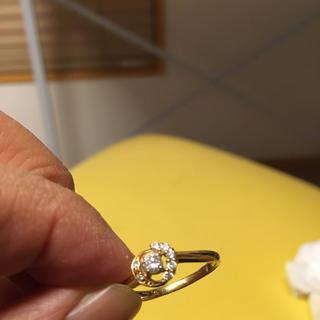 【お値引きしました】18k ダイヤモンドリング(リング(指輪))