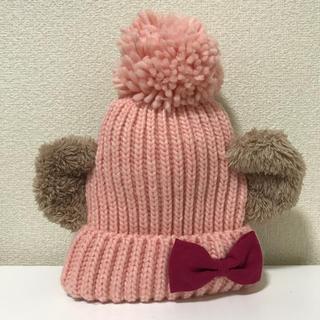 Disney - シェリーメイ ニット帽(ピンク)