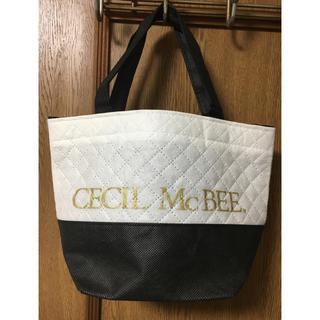 セシルマクビー(CECIL McBEE)のセシルマクビー 不織布 ショッパー ショップ袋(ショップ袋)