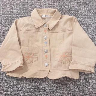 ブランシェス(Branshes)のBranshes 刺繍 ジャケット 80(ジャケット/コート)
