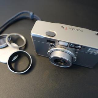 キョウセラ(京セラ)のコンタックス CONTAX Tix  28mm F2.8 T*(フィルムカメラ)