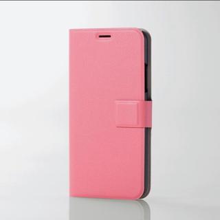 ELECOM - iPhoneXS iPhoneX スマホケース 薄型 スリム ピンク