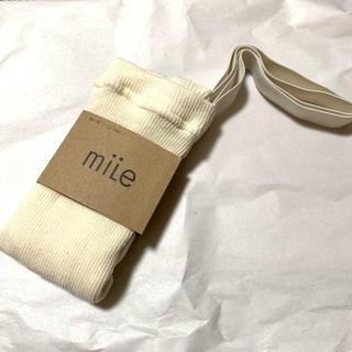キャラメルベビー&チャイルド(Caramel baby&child )の【新品】mile 肩紐付きタイツ(靴下/タイツ)