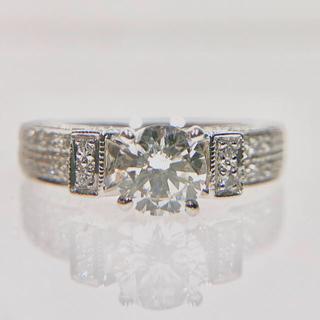 プラチナ ダイヤモンド リング(リング(指輪))