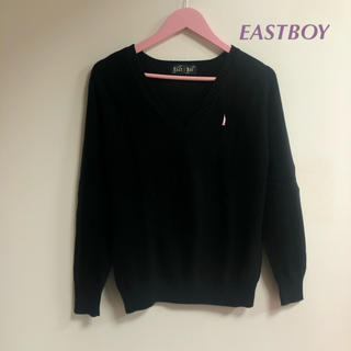 イーストボーイ(EASTBOY)のEASTBOY 黒ニット セーター(ニット/セーター)