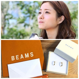 BEAMS - 石原さとみさん着用 BEAMS 新品未使用 フープピアス