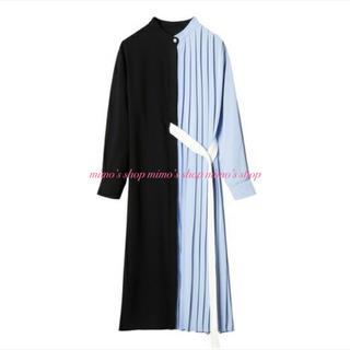 LE CIEL BLEU - 大人気完売品☆美品☆LE CIEL BLUE☆プリーツハーフドレス