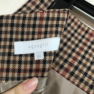 アクアガール(aquagirl)のアクアガール ハイウエストタイトスカート(ひざ丈スカート)