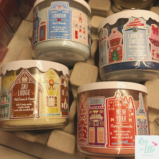 Bath & Body Works - 【セール】3wick candle4点セット