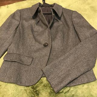 アナイ(ANAYI)の美品 ANAYI  アナイ カシミヤ混 シングルジャケット(テーラードジャケット)