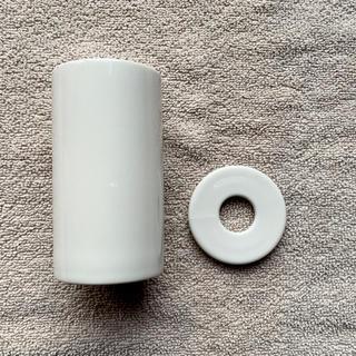 ムジルシリョウヒン(MUJI (無印良品))の無印良品 インテリアフレグランス 磁器ホルダー(アロマポット/アロマランプ/芳香器)