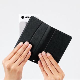 機種を選ばない 汎用 マルチカバー  手帳型 ブラック