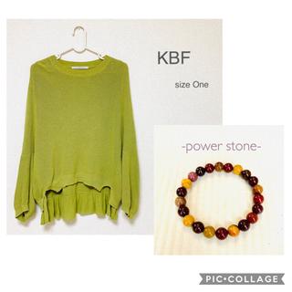 KBF - KBF ドルマンニット/size One