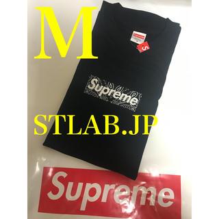 Supreme - 黒 M 19AW Supreme Bandana Box Logo Tee