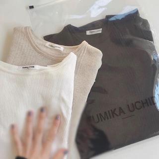fumika uchida カットソー3枚set
