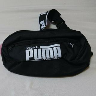 PUMA - PUMA ウエストポーチ 斜めがけバッグ  ブラック 新品