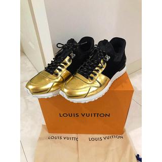 LOUIS VUITTON - 2019コレクション ヴィトン  ラン・アウェイ ライン スニーカー 9 1/2